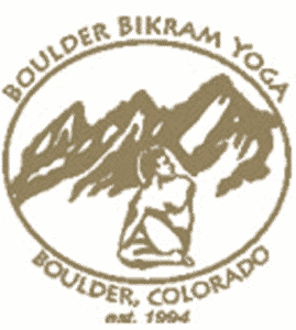 Boulder Bikram Yoga Logo and former client of STU Enterprises