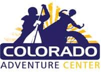 Colorado Adventure Center Logo and a former client of STU Enterprises